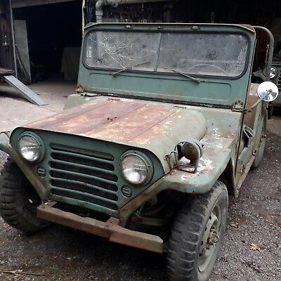 Willys Kaizer m151 mutt jeep military vehicle classic car barn find