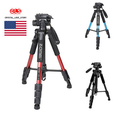 Professional Alloy Camera Tripods For DSLR Canon Nikon Sony DV Video Photography