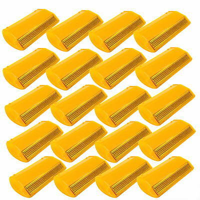 20-Pack NEW Commercial Road Highway Pavement Marker Reflector - One-Side, Yellow