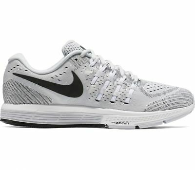 MEN'S NIKE AIR ZOOM VOMERO 11 SHOES platinum black white 818099 002 MSRP $150
