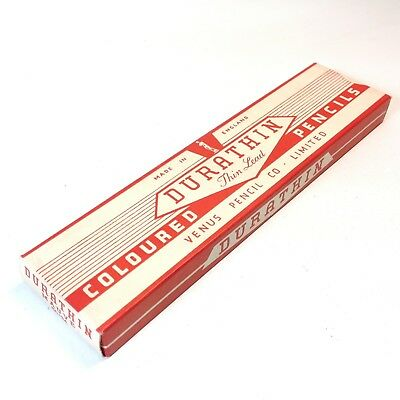 Vintage DURATHIN Pencils In Box