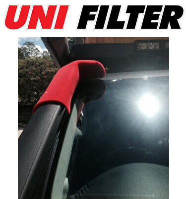 1 X UNIFILTER Ram Head/Snorkel Pre Cleaner Filter - TJM Over Windscreen Fitment