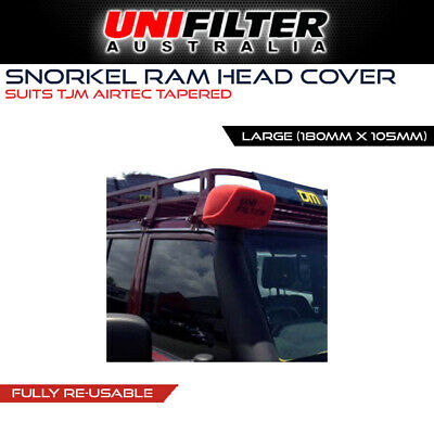 1 X UNIFILTER TJM AIRTEC (180W x 105H) Pre Cleaner Filter Large Tapered Fitment