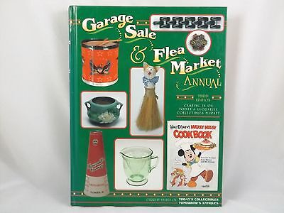 Garage Sale Flea Market Reference Book 3rd Edition Nostalgia 1995 Hardcover