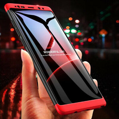 For Samsung Galaxy Note 9 J8 2018  Shockproof Hybrid Armor 360° Cover Hard Case