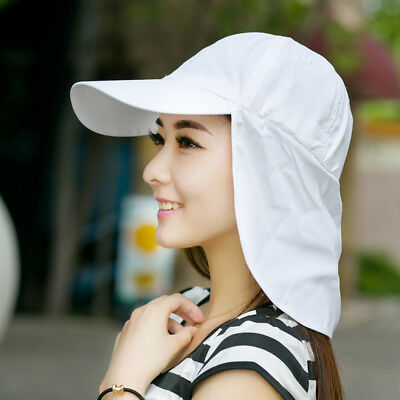 Fashion Unisex Sun Legionnaire Hat Cap Neck Flap Protection Kepi Teen Youth #WE9