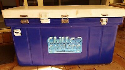 95L Chillco Ice Box Cooler Chilly Bin Ice Chest