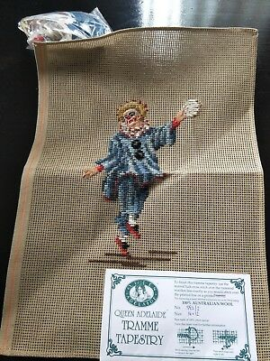 BRAND NEW QUEEN ADELAIDE Trammed TAPESTRY CANVAS & WOOL No. 582/2