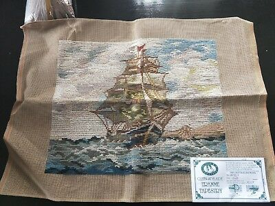 BRAND NEW QUEEN ADELAIDE Trammed TAPESTRY CANVAS & WOOL No. 3478/3