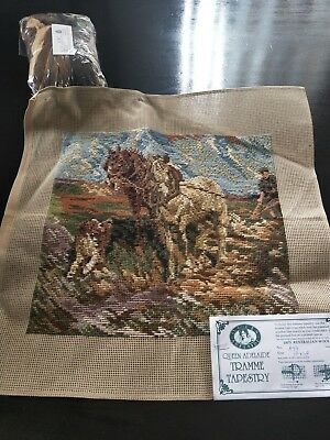 BRAND NEW QUEEN ADELAIDE Trammed TAPESTRY CANVAS & WOOL No. A97