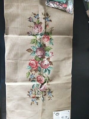 BRAND NEW QUEEN ADELAIDE Trammed TAPESTRY CANVAS & WOOL No. A507/2