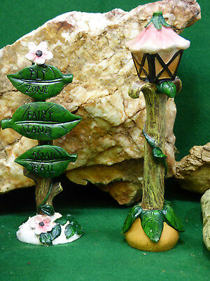 New Fairy Garden Miniature Doll House Realistic Log Look Pathway You get Two