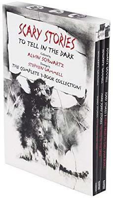 Scary Stories Paperback Box Set: The Complete 3-Book Collection with Classic Art
