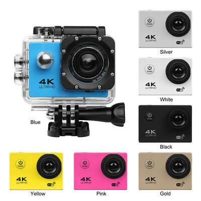 Ultra 4K Full HD 1080P Waterproof DVR Sports Camera WiFi Cam DV Action Camcorder
