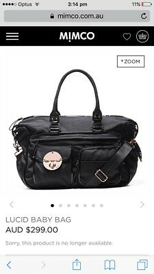 Mimco Lucid Nappy Baby Bag