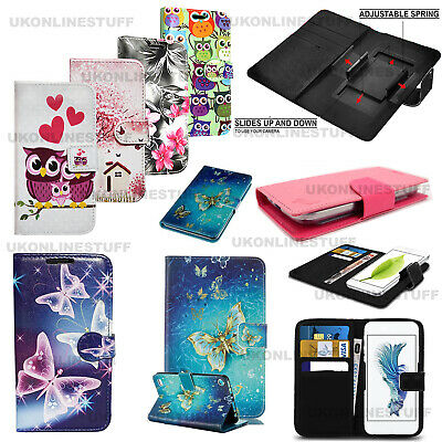 For Motorola Moto E5 Play Wallet Leather Book Card Slots Stand View Case Cover