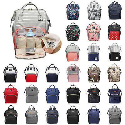 Multifunctional Baby Diaper Nappy Backpack Rucksack Mummy Maternity Changing Bag