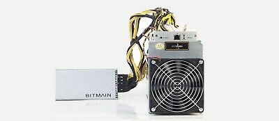 AntMiner L3+ 504MH/s ASIC Miner + Power supply APW3++ Included!