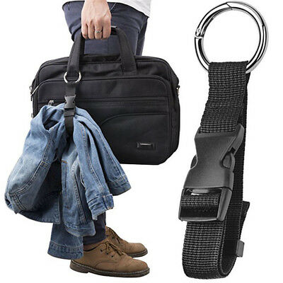 Jacket Holder Gripper Add Bag Handbag Clip Use to Carry Anti-theft Luggage Strap
