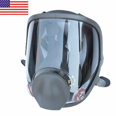 USA Full Face Gas Mask Painting Spraying Respirator For 6800 Facepiece Large
