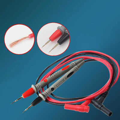 Hot Multimeter Voltmeter Cable Thin Needle Tester Universal Probe Test Lead cord