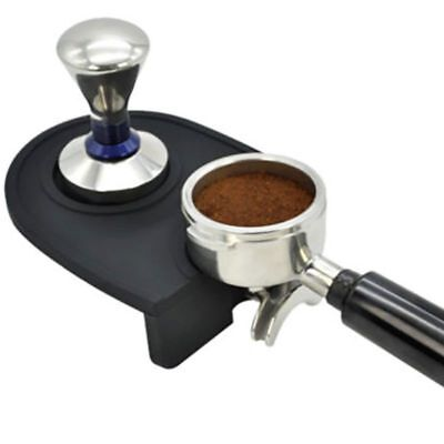 Barista Coffee Mats Latte Espresso Safe Art Pen Tamper Tamping Rest Holder Pads