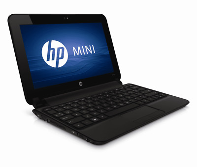 "FAST HP Mini 10.1"" Intel Atom 2GB RAM 120GB HDD Win 7 Webcam ""Without Charger"".."