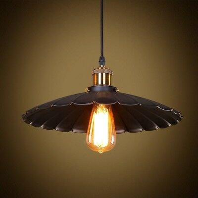 Black Mini Pendant Light Fixture Vintage Industrial Hanging Metal Kitchen Island
