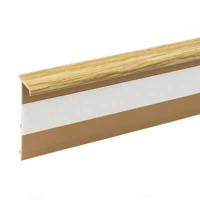 2.5m PINE CARPET SKIRTING board accessories wall floor edging fitted carpeting