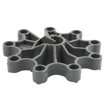 20mm CARTWHEEL REINFORCEMENT SPACERS plastic rebar rod support for concrete