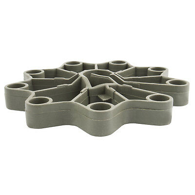 40mm CARTWHEEL REINFORCEMENT SPACERS plastic rebar rod support for concrete