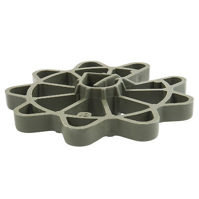 25mm CARTWHEEL REINFORCEMENT SPACERS plastic rebar rod support for concrete