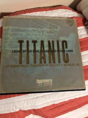 Discovery channel Titanic legacy of the worlds greatest ocean liner + Extra Book