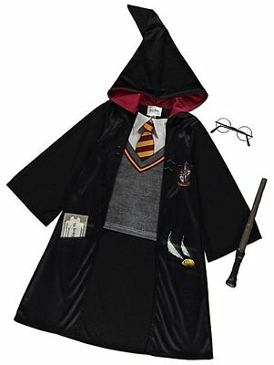 George Harry Potter Wizard Outfit Costume Accessories Fancy Dress World Book Day