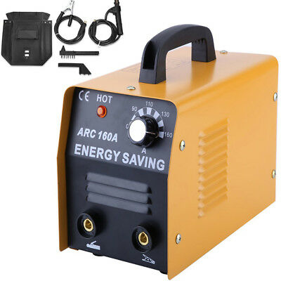 160 AMP Welder 230V AC ARC DC Welding Machine Weld w/ Free Mask Accessories US