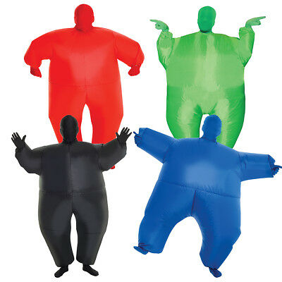 Kids Inflatable Megamorph Costume Blow Up Fat Suit Air Sumo By Morphsuits