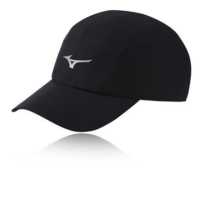 Mizuno Unisex DryLite Running Cap Black Sports Breathable Lightweight