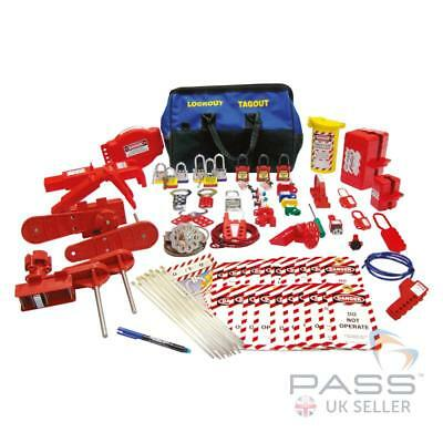 NEW Premium Electrical and Valve Lockout Kit - 34 piece