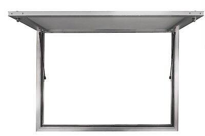 "Concession Stand Serving Window 60"" X 36"" Food Truck Service Awning - No Glass"