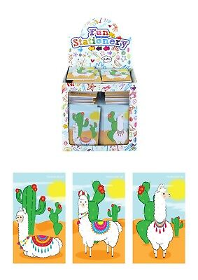 Llama Notebooks x168 Bulk Box Birthday Party Loot Bag Fillers Favours Stationery