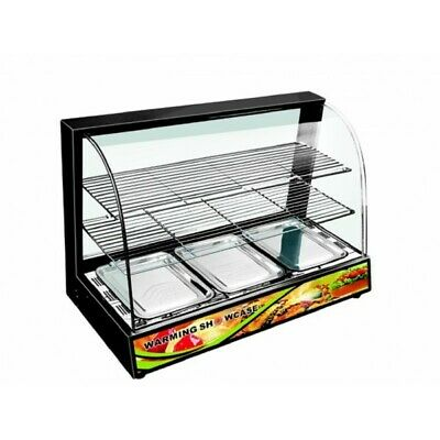 Electric Pie Pastry Commercial Hot Food Warmer Display Cabinet Counter