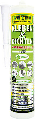 Petec Colle & Joints Ecoline, 290 Ml, Blanc 94529
