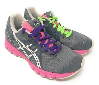 Size 33 Shoe In Us.Asics Rush 33 Women S Running Shoes Size Us 6 5 Gray White