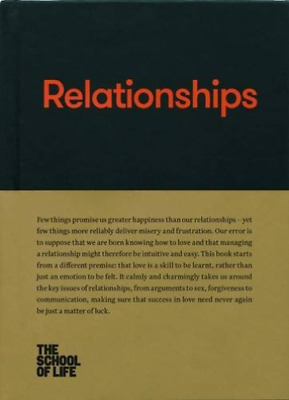 The School of Life-Relationships BOOKH NEW