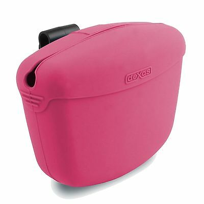 POOCH POUCH Clip-on TREAT Holder Dog Obedience Training Bag - Pink
