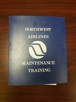 Northwest Airlines DC-10 Schematics & Block Diagrams Maintanence Training Manual