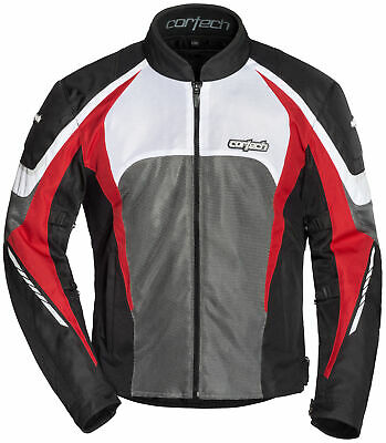 Cortech GX-Sport Air 5.0 Jacket Size XLG Black/Red