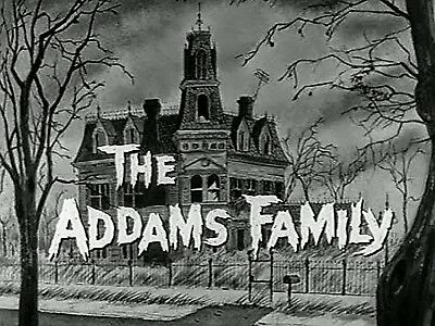 The Addams Family Iron On Transfer For T-Shirt & Other Light Color Fabric #1