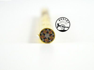 Gold/Silver/Copper Mosaic Pin Rivets - 10mm