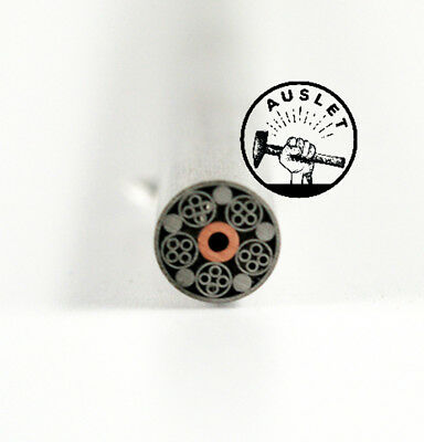 Silver Copper Mosaic Pin Rivets - 6mm